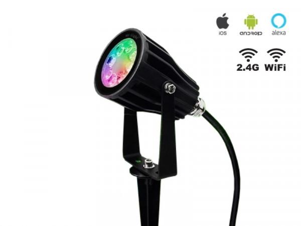Mi-Light Smart LED 6W RGB+CCT Outdoor Strahler FUTC04