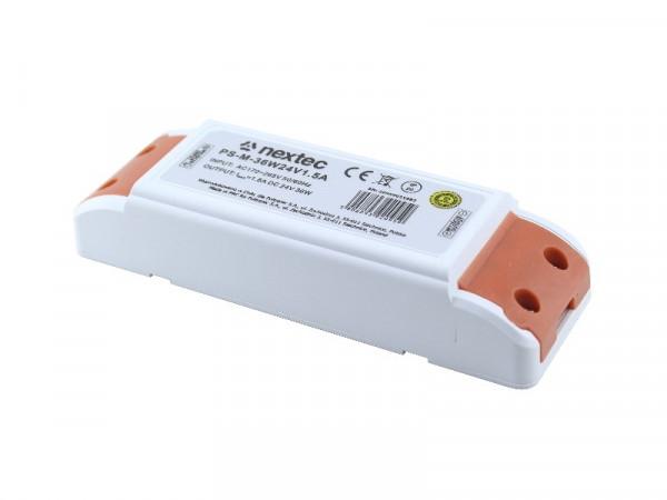 Nextec LED Trafo 24V 36W