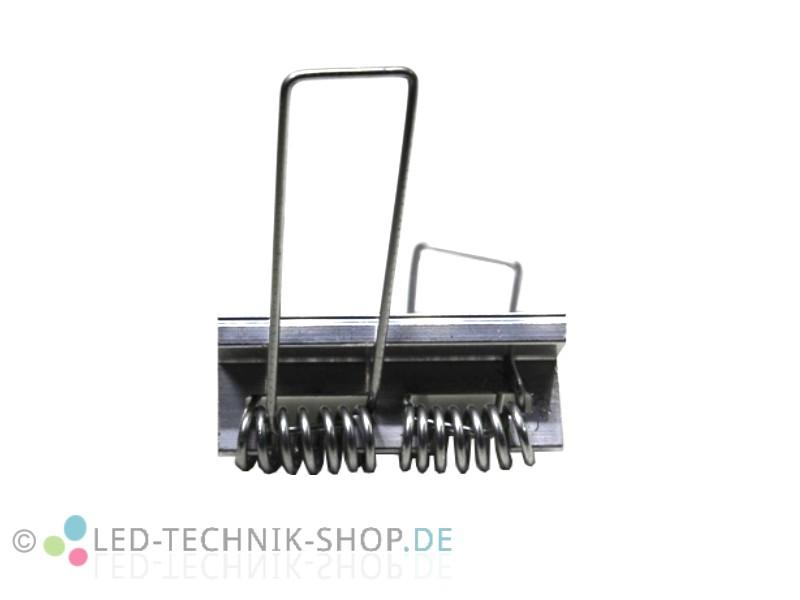 Befestigungsclip Feder Aluminium LED Profil für Montage in Hohlraum Gipskarton