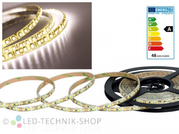 LED Strip 12V 3528-120 IP63 500cm neutralweiss