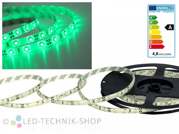 LED Strip 12V 3528-60 IP63 100cm grün
