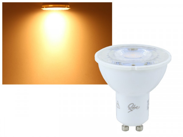 LED Strahler Rolux GU10 6W 450lm dimmbar warmweiss