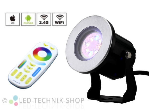 Premium LED Outdoor Strahler RGB+CCT Starter-Set