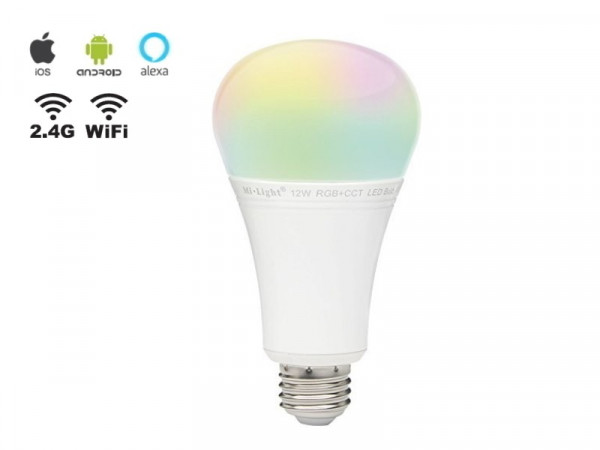 Mi-Light Smart LED E27 12W RGB+CCT FUT105 Leuchtmittel