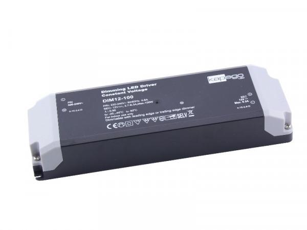 Kapego LED Trafo dimmbar 12V 100W