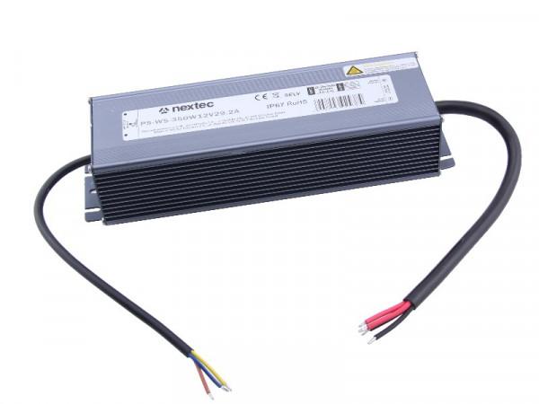 Nextec LED Trafo Slim IP67 12V 350W