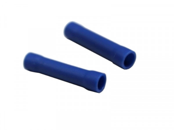 Stoßverbinder blau 1,5-2,5mm² -10er Pack-