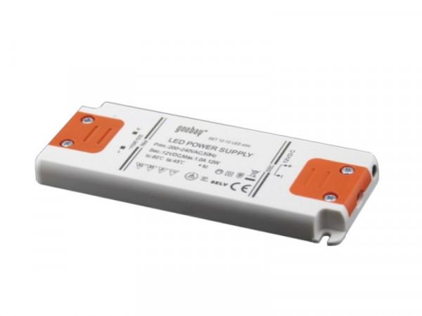 LED Trafo Slimline 12V 12W
