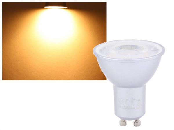 LED Strahler Ra95 7W GU10 warmweiss