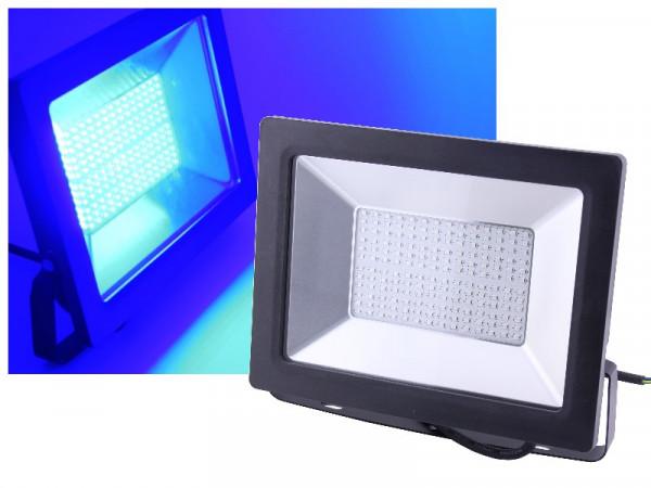 LED Flutlichtstrahler 100W blau