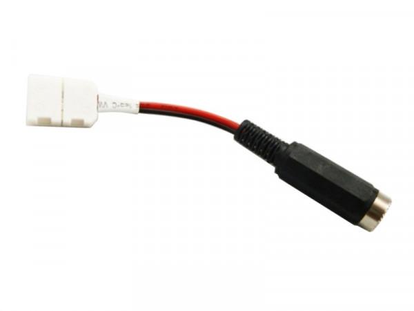 Verbinder Anschlußkabel LED-Strip / Netzteil lötfrei