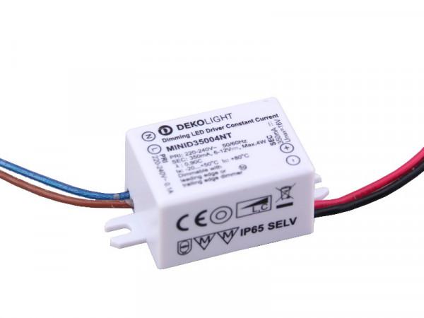 Mini LED Trafo IP65 350mA Konstantstrom 4W dimmbar