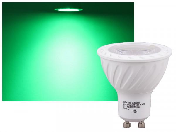 LED COB GU10 LED Strahler 5W grün