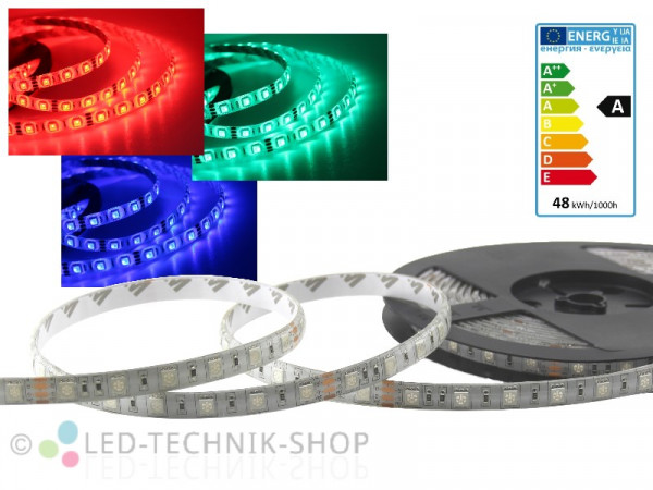 LED Strip 24V 5050-60 IP65 500cm RGB