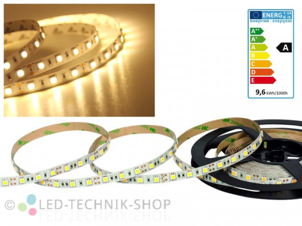 LED Strip 12V 5050-60 IP20 100cm warmweiss