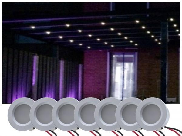 LED Beleuchtung Terrassenüberdachung kaltweiss