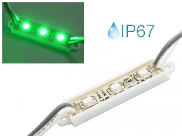 LED Modul Cluster wasserdicht IP67 grün