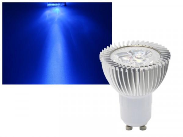 LED Strahler GU10 6W blau