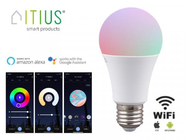 WiFi Smart LED Leuchtmittel E27 10W RGB+CCT