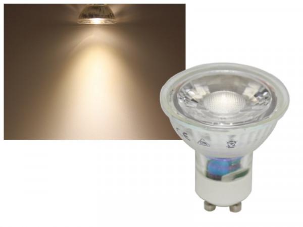 LED COB Strahler GU10 7W neutralweiss