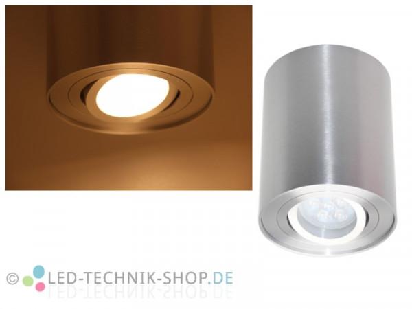 LED Design Lampe rund 6W warmweiss dimmbar