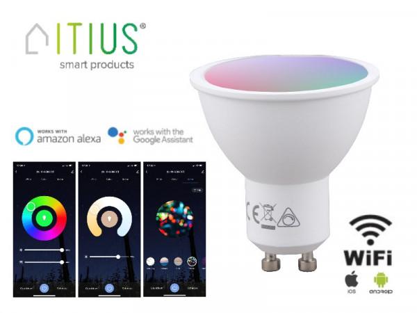 WiFi Smart LED Strahler GU10 5W RGB+CCT