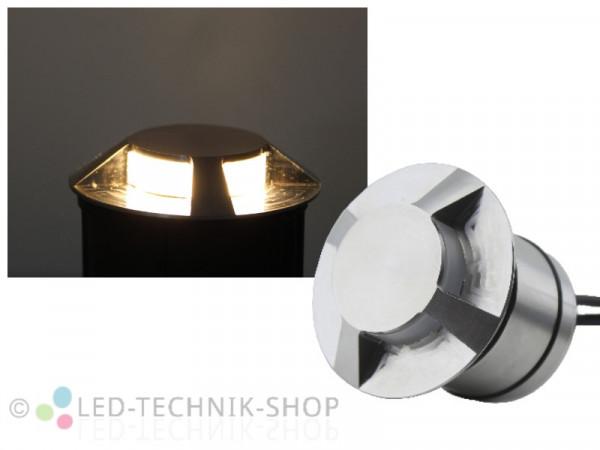 """""""Vario-Pro"""" LED Bodeneinbaustrahler 4-fach Effekt"""