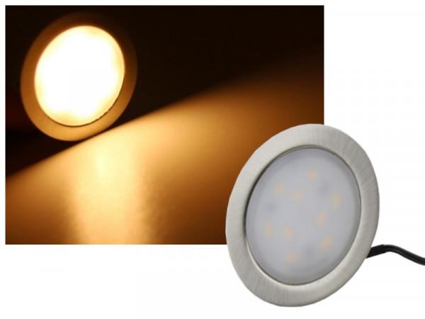 LED Einbauleuchte 12V 1,8W warmweiss