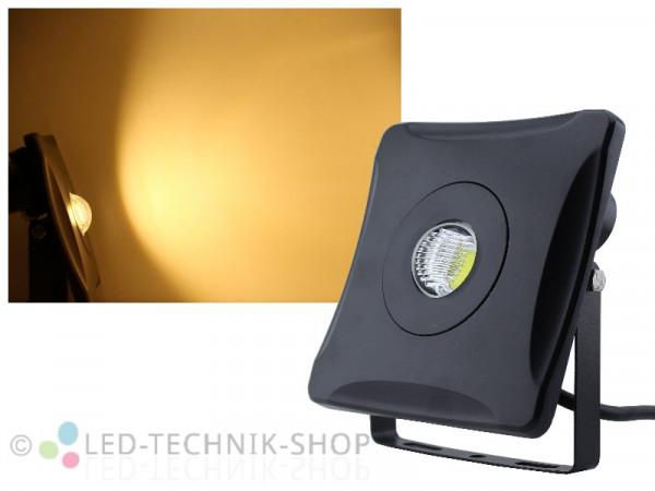 """10W LED COB Design Fluter """"Flood Eye"""" warmweiss"""