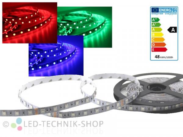 LED Strip 24V 5050-60 IP20 500cm RGB