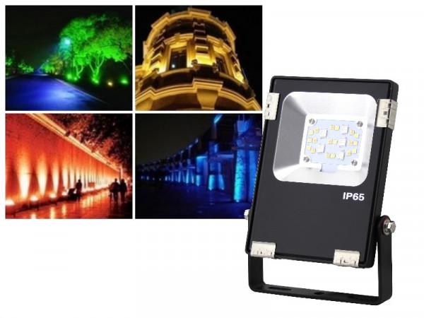 Mi-Light Profi LED Fluter 10W RGB+CCT FUTT05
