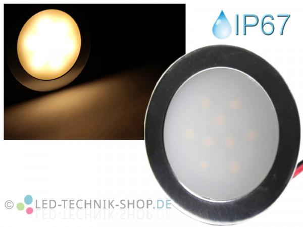 LED Einbauleuchte Slim IP67 warmweiss