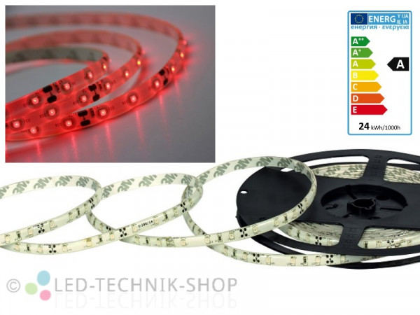 LED Strip 12V 3528-60 IP63 500cm rot