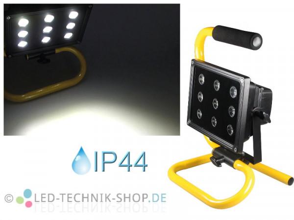 Akku LED Fluter Baustrahler 22,5W