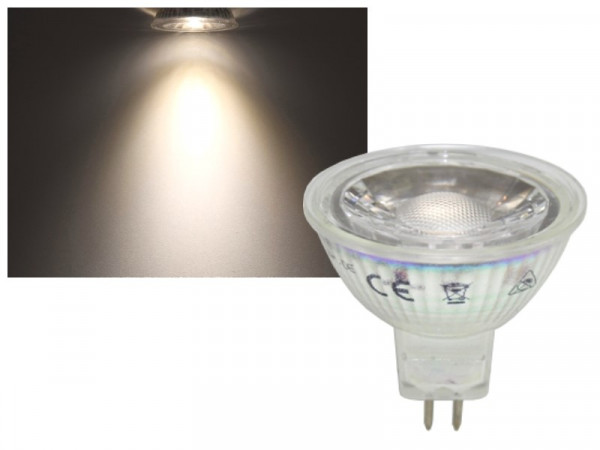 LED Strahler COB MR16 GU5.3 5W neutralweiss