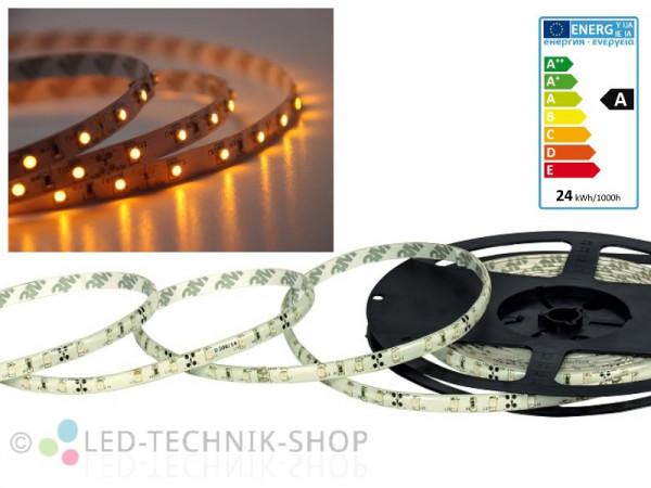 LED Strip 12V 3528-60 IP20 500cm gelb orange