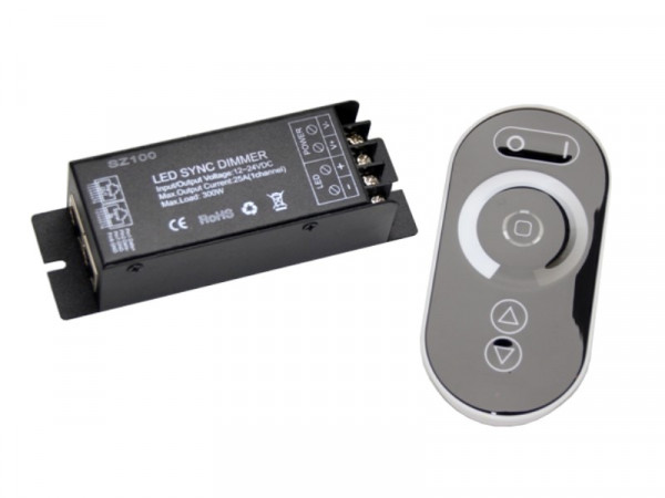 "LED Funk Touch Dimmer ""Sync"" 12/24V 25A"