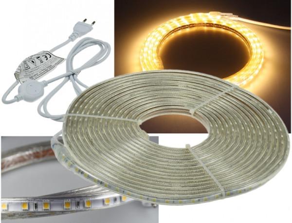 "230V LED Strip ""Ultra-Bright"" IP44 10m warmweiss"
