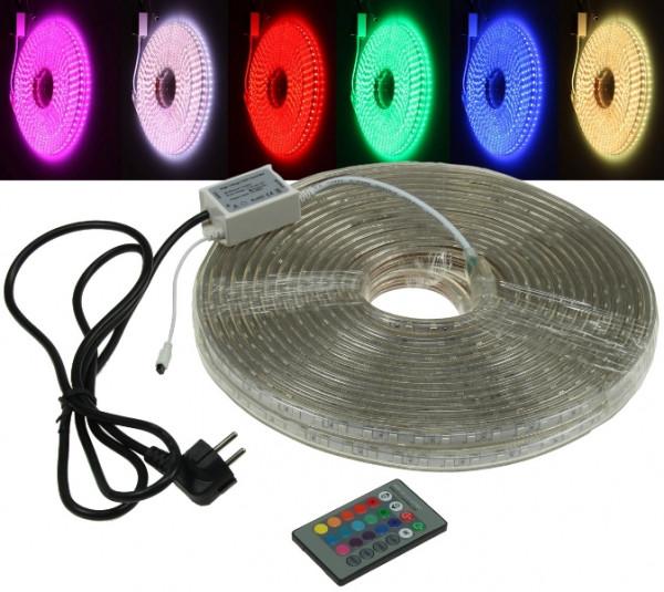 "230V LED Strip ""RGB-PRO"" IP44 20m"