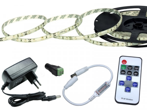 Bundle LED Strip Komplettset kaltweiss