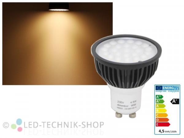 LED Strahler GU10 4,5W SMD warmweiss dimmbar