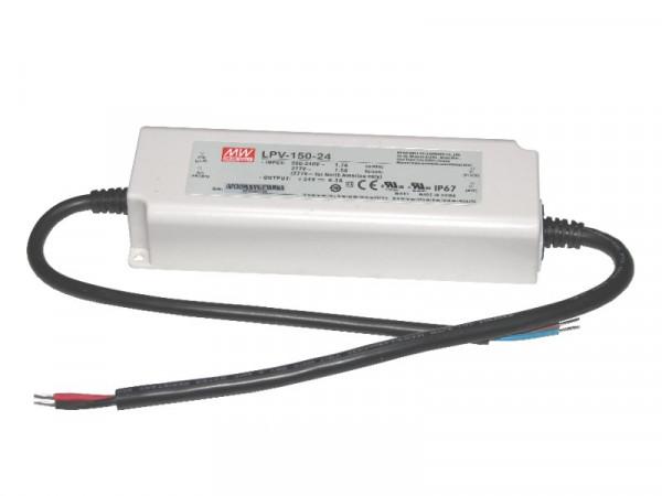 LED Trafo MW IP67 wasserdicht 24V 150W
