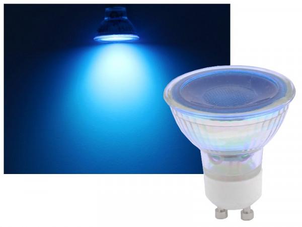 Omnilux GU10 LED Strahler 7W blau 36°