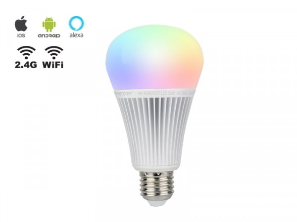 Mi-Light Smart LED E27 9W RGB+CCT FUT012 Leuchtmittel