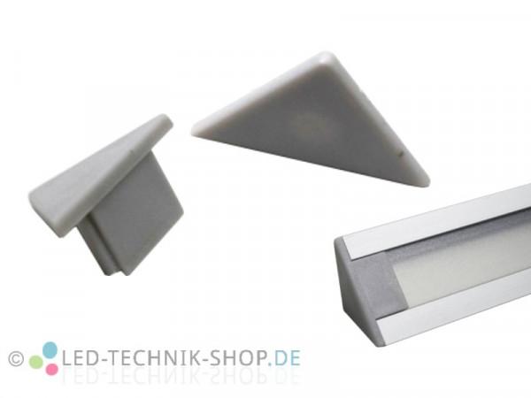Endkappen für Alu LED Profil LTS-31