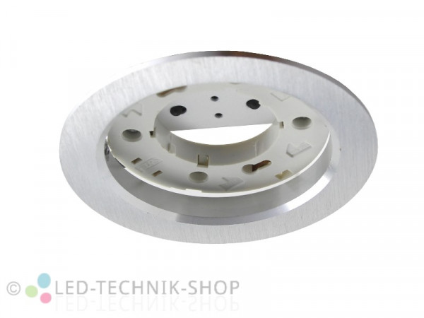 "Einbaufassung ""Volantio"" GX53 Aluminium silber"