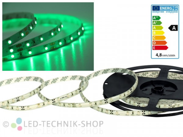 LED Strip 12V 3528-60 IP20 100cm grün