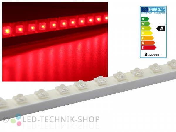 SuperFlux LED Leiste IP65 50cm rot