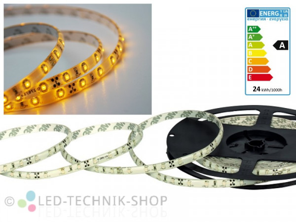 LED Strip 12V 3528-60 IP63 500cm gelb orange