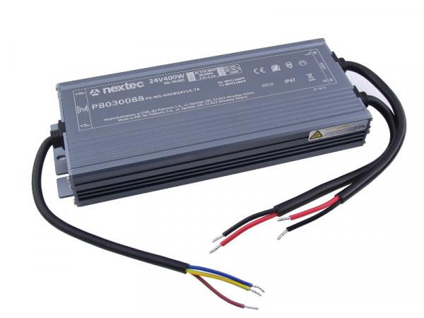 Nextec LED Trafo Slim IP67 24V 400W
